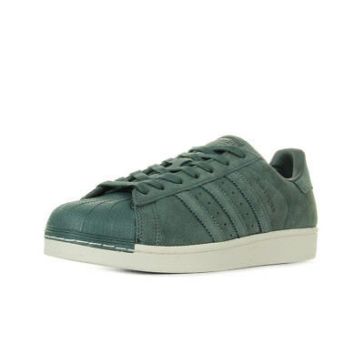 Chaussures Baskets adidas homme Superstar Green Night taille Vert olive Verte