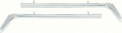 OER F660 1967-1968 Pontiac Firebird 400 Grill Bars Diecast Reproduction Pair