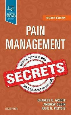 Pain Management Secrets by Charles E. Argoff Paperback Book Free Shipping!