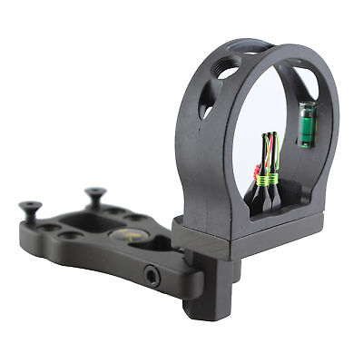 Extreme Aluminum Compound Bow Sight Brass-Made 3-Pin Hunting Archery Fiber Optic