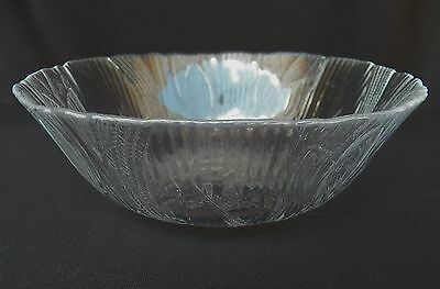 4 Arcoroc Canterbury Clear Glass Cereal Soup Bowls