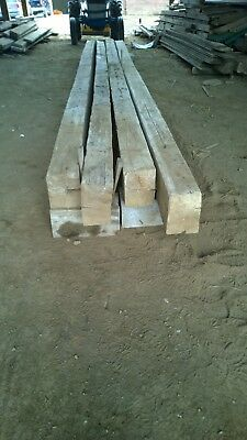 Hand Hewn Red Oak Beams. Price is per linear foot.