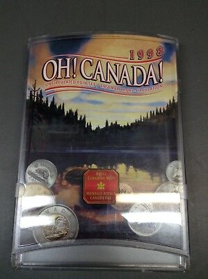 Canada - 1998 W - OH Canada Uncirculated 7 Coin set