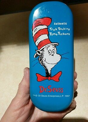 """Dr. Seuss Tick Tocking Time Tickers Watch """"Cat In Hat """""""