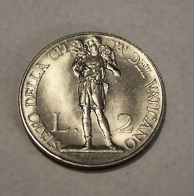 Vatican 2 Lire 1936, Y-6 Excellent condition