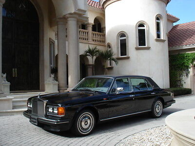 1990 Rolls-Royce Silver Spirit/Spur/Dawn SPUR II FLORIDA, SPUR II, LWB, BLACK BEAUTY, LAST OWNER FOR 20 YEARS, AWESOME CONDITION