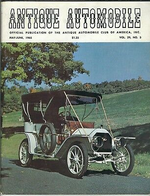 MA-109 Antique Automobile Magazine May-June 1965 Issue 1905 Christie Speedster