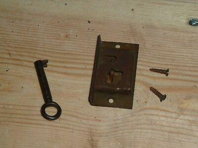 Antique Grandfather/Longcase Clock Lock And Key