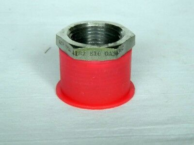 "ASP Reducing Bushing 316 Stainless Steel 1"" MNPT 3/4"" FNPT"