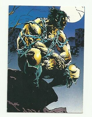1992 Comic Images Wolverine From Then 'Til Now II 1-90 Card Complete Set