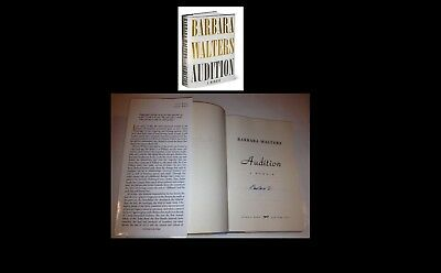Barbara Walters Signed Book Audition W/Coa From Signing Nice 1St Ed 1St Print