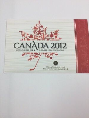 2012 Canada Uncirculated 7 Coin Year Set.