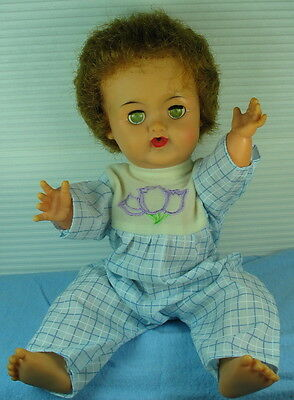 Baby Betsy Wetsy Doll 13' Carry Around Size All Vinyl Body/4-Parts/repair/play