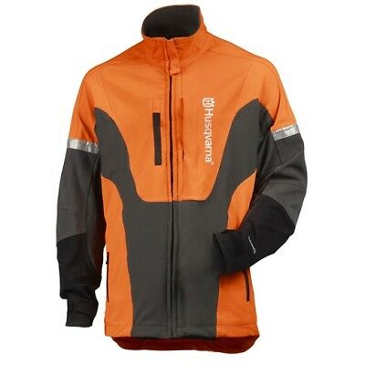 Husqvarna Technical Jacket Hi-Viz Chainsaw Safety Equipment