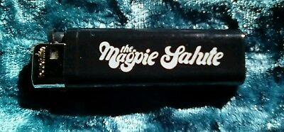 Used The Magpie Salute Promo Lighter Black Crowes Rich Robinson Gently Used
