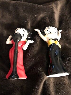 Betty Boop Sing & Dance Salt and Pepper Shakers