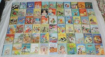 Huge Lot of 66 Little Golden Books Mix Vintage, Classic & Modern Nice Condition