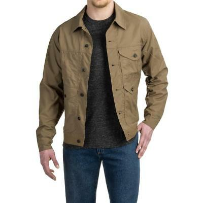 New FILSON Short Lined Cruiser Jacket Soy Waxed Cotton Canvas Work Coat M/L/XL