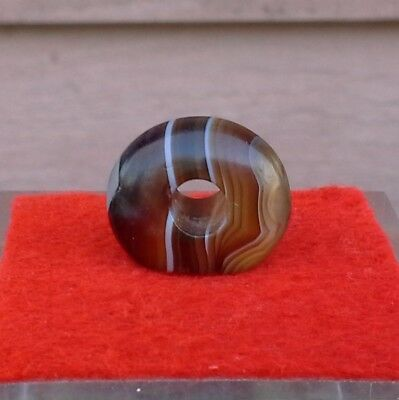 Ancient Banded Agate Seal - Late Minoan?