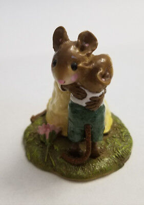 """Wee Forest Folk """"Mother Mouse Hugging her Son"""" William Peterson+ADORABLE++"""
