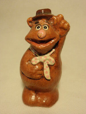 The Muppets Fozzie the Bear Ceramic Figurine *Chipped*