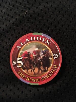 aladdin $5 casino chip run for the roses the home stretch 2004