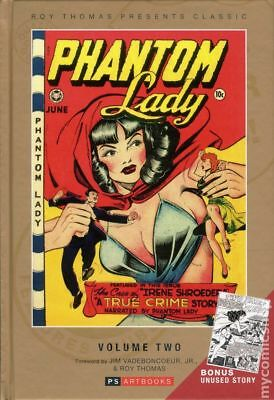 Roy Thomas Presents: Classic Phantom Lady HC Collected Works 2-1ST 2013 NM