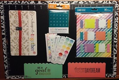 NEW Erin Condren Lot, Date Dots, Hold it Band, Sticky Notes & MORE!FREE SHIPPING
