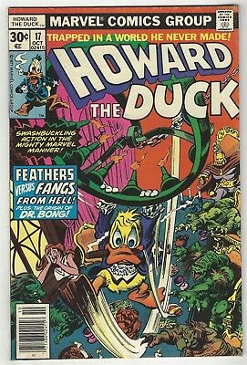 Howard The Duck 17! Vg/fn 5.0! Great Bronze Age Marvel Comic Book!