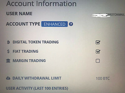 """ENHANCED"" VERIFIED BITTREX ACCOUNT - Start making millions today $$$$"