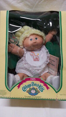 Cabbage Patch kid Tracey Allison 1985 NEW