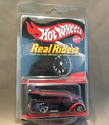 Hot Wheels Redline Club RLC 2017 Drag Dairy Real Riders Limited Edition 6,000