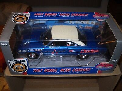 "Super Car Collectibles --1967 Dodge Hemi ""coronet"" Dick Landy's Dodge Issue # 3"
