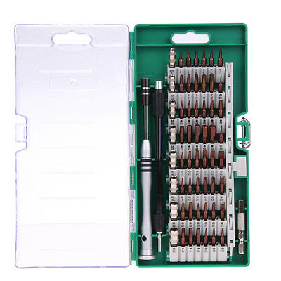 60 in 1 Professional Steel Precision Screwdriver Nutdriver Bit Repair Tools Kit