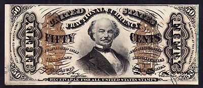 US 50c Fractional Currency FR 1331 Ch AU