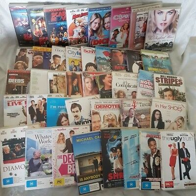 Comedy Movie Pack 41 x DVDs Moonstruck,Stepford Wives,Clueless,Dick,Mars Attacks