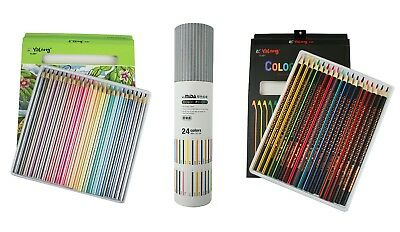 Coloured Pencils Art Pack Sets For School Class Children Kids Stationery