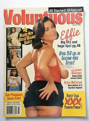 Vintage Men's Glamour Magazine. March 1996. Carrie Lorimer and Danni Ashe