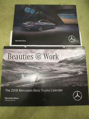 Mercedes Kalender Beauties @ at Work 2018 Trucks und Mercedes PKW Kalender 2018
