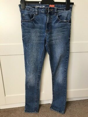 Boys Spray On Skinny Jeans From Next Age 11 Years