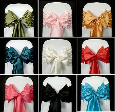 100 Taffeta Sashes,  Many Colours Available