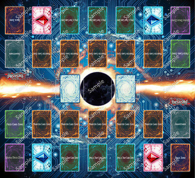Design by Jimmy Yugioh 2 Player Two Player Playmat Custom Made Play Mat #001