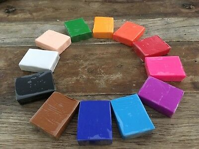 12 Blocks ( 250gr) Oven Bake Polymer Clay  by Clay World -  POLYClay