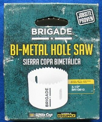Brigade 3-1/2 Inch Bi-Metal Hole Saw - New in Box