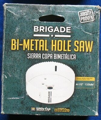 Brigade 4-1/8 Inch Bi-Metal Hole Saw - New in Box