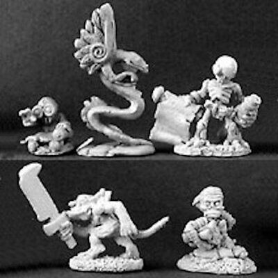 Reaper Warlord 14296 Familiars III Baby Coatl Flying Serpent Couatl Snake Demon