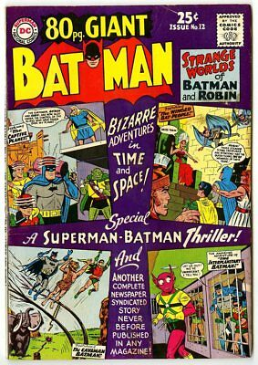 Eighty Page Giant #12 VF- 7.5  Batman  DC  1965  No Reserve