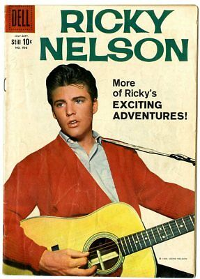 Four Color #998 VG+ 4.5  Ricky Nelson  Photo Cover  Dell  1959  No Reserve