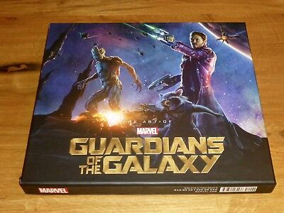 Guardians of the Galaxy The Art of the Movie Slipcase Edition Marvel Schuber OOP