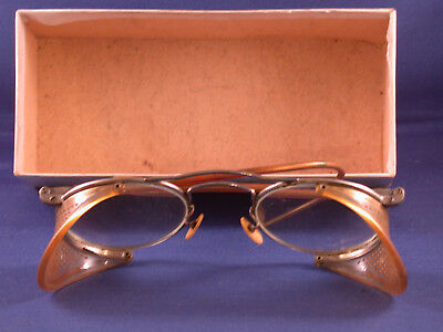 Vintage NCG Welding/Safety/Motorcycle Goggles - National Cylinder & Gas Co.FS-50